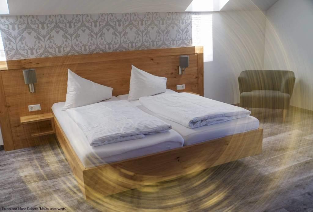 Fuschl am See: Zimmer in der Pension Haslgut [10 Tage Roadtrip Salzburg]