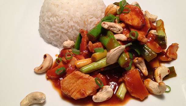 Kylling cashew