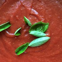 Passata - italiensk tomatpure