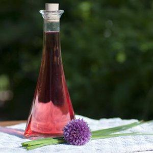 Kryddereddike på purløgsblomster