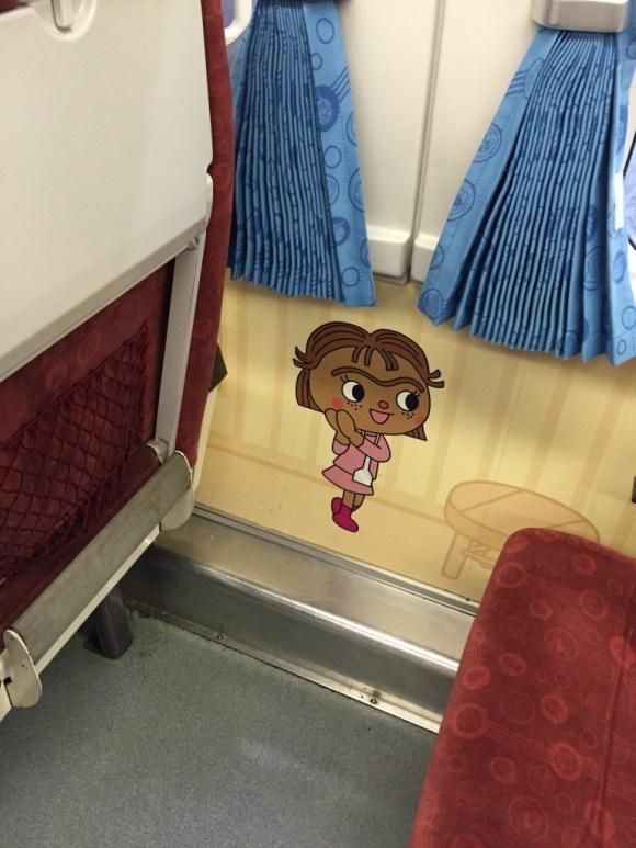 アンパンマン車両壁紙とカーテン