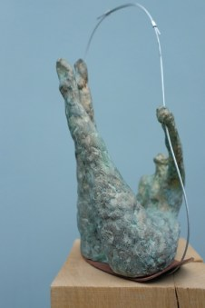 modelage enfant terre cuite bronze granit pierre galerie funambules vannes