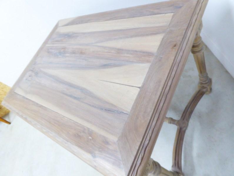 relooking meuble noyer bois massif brocante antiquité DIY