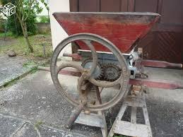 relooking création rouille Indus industriel meubles console bois machine ancienne broyeur raisins