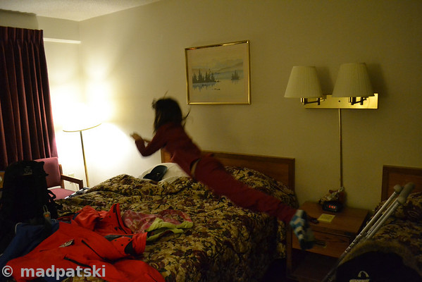 Bed diving