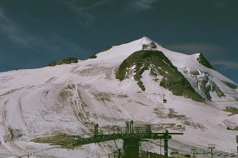 13 août 2011: Glacier de la Grande Motte, Tignes