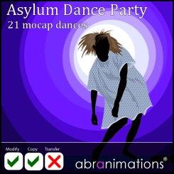 abranimations asylum dance party