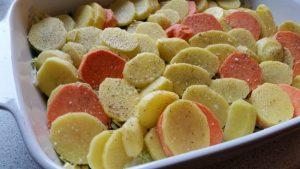 Flødekartofler på rosenkål (3)