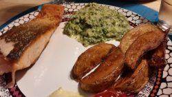 Friturestegte kartoffelbåde