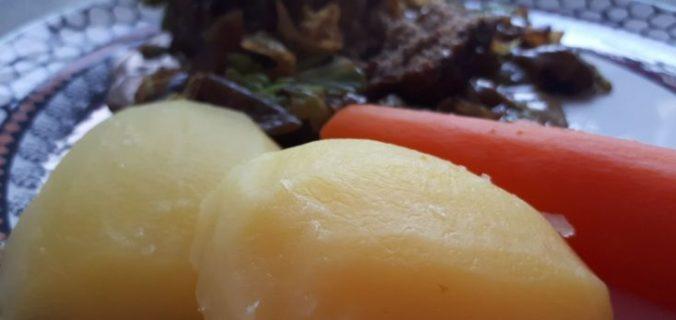 Kogte kartofler