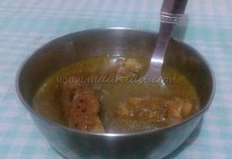 Mutton Leg Soup/ Lamb leg soup / Aatu kaal soup