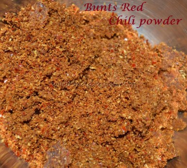Bunts Red Chili Powder
