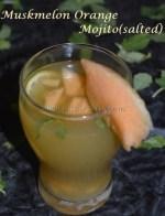Muskmelon Orange Mojito - Salted version