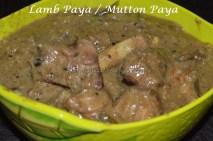 Lamb Paya / Mutton Paya