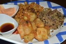 Fried Veggie platter