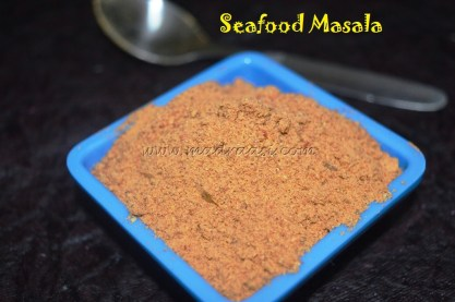 Seafood Masala