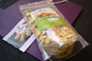 Jack fruit Chunks with the recipe box