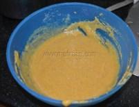 Fine flour paste