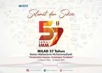 Milad 57 tahun IMM (Madrasah Digital)