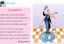 Photo of Poème le magicien livre de lecture de 5 ème