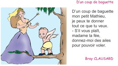 Photo of poème d'un coup de baguette livre de lecture 4 ème année