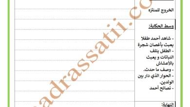 Photo of تقييم انتاج كتابي السنة الرابعة السداسي الأول