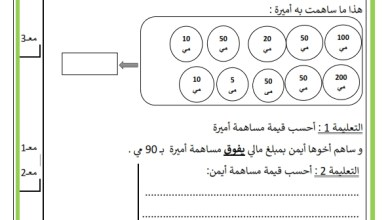 Photo of تقييم مكتسبات تلاميذ الثانية أساسي في نهاية السداسي الثاني في مادة الرياضيات