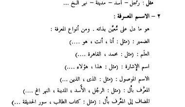 Photo of ملخص قواعد اللغة العربية