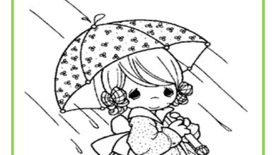 Photo of تلوين صور فصل الشتاء المطر