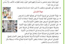 Photo of في الصيدلية – مهنة الصيدلي