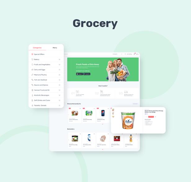 Cartzilla - Digital Marketplace & Grocery Store WordPress Theme - 2