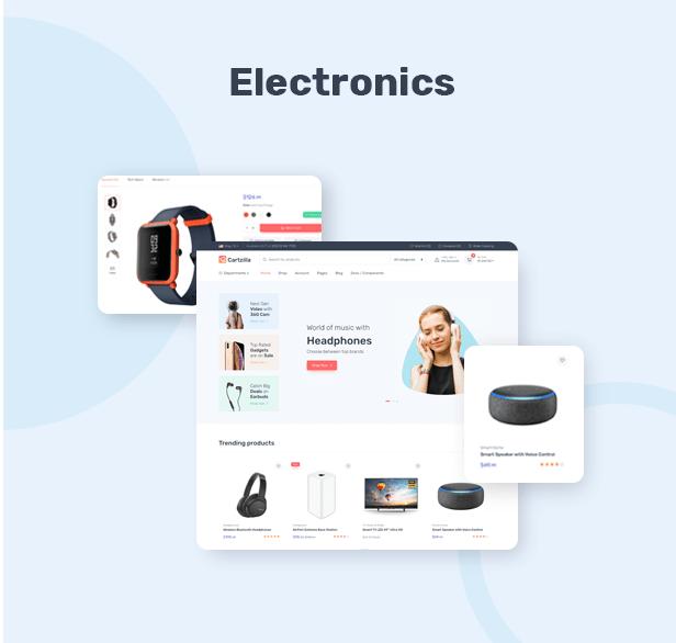 Cartzilla - Digital Marketplace & Grocery Store WordPress Theme - 3