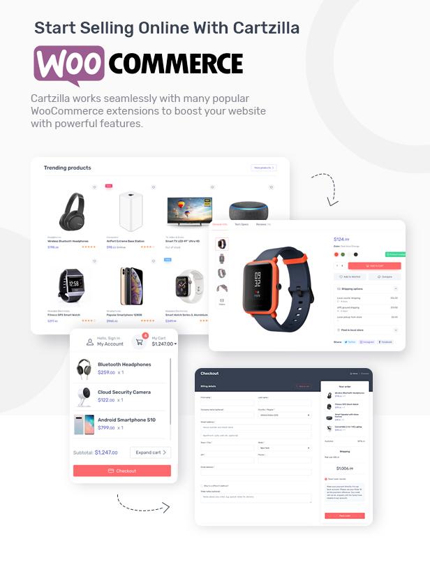 Cartzilla - Digital Marketplace & Grocery Store WordPress Theme - 5