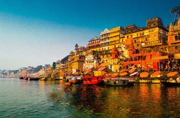 Golden Triangle With Varanasi