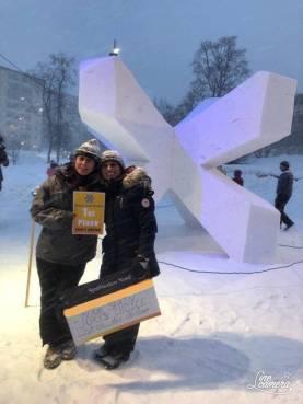Esther Fuster - Premio Escultura en Nieve