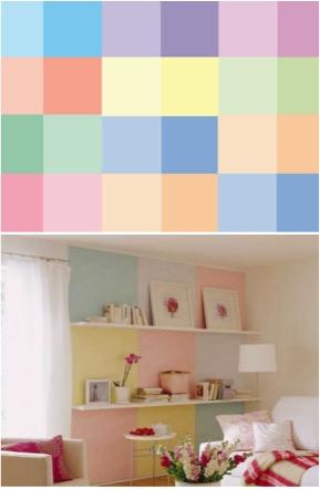 Colores pasteles para la casa