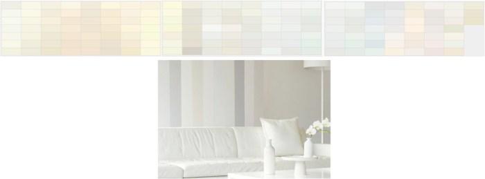 Colores blancos para la casa