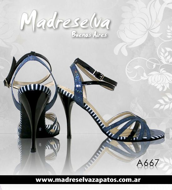 Zapatos de Tango A667