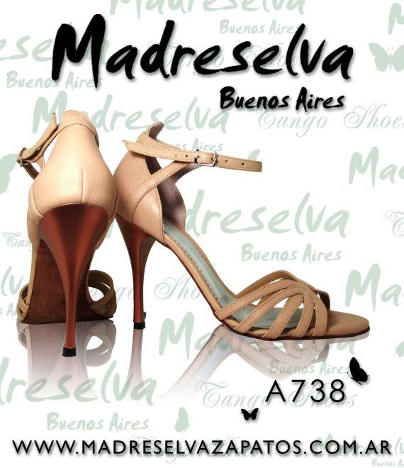 Zapatos de Tango A738