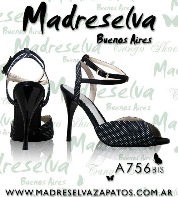Zapatos de Tango A756bis
