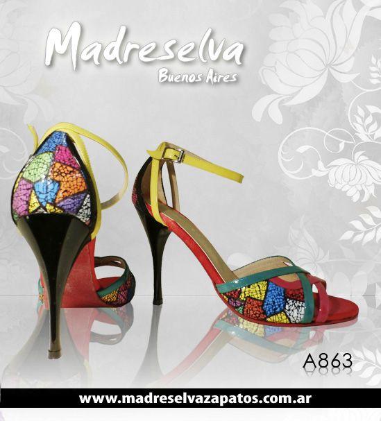 Zapatos de Tango A863