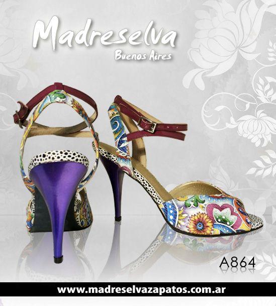 Zapatos de Tango A864
