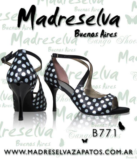 Zapatos de Tango B771