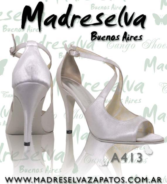 Zapatos de Novias A413 Blanco