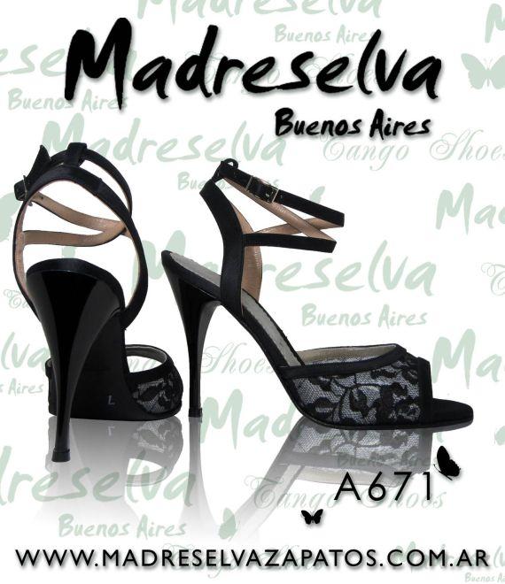 Zapatos de Tango A671