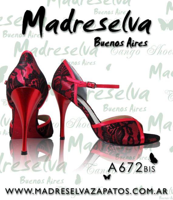 Zapatos de Tango A672bis