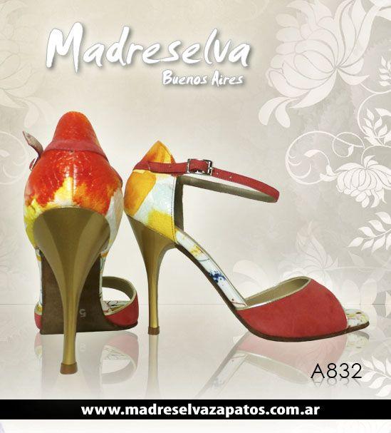 Zapatos de Tango A832