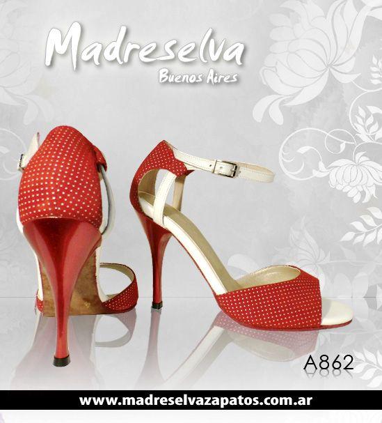 Zapatos de Tango A862