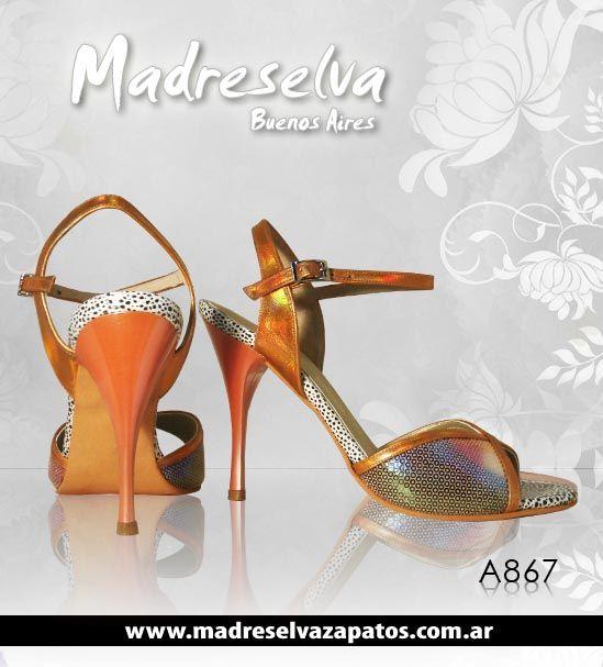 Zapatos de Tango A867