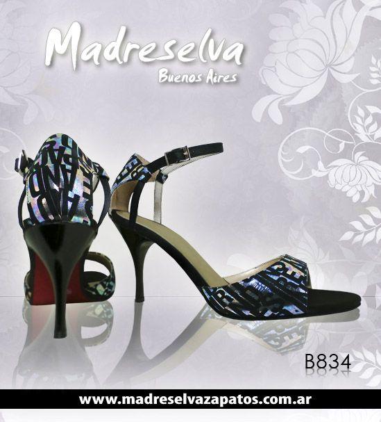 Zapatos de Tango B834n